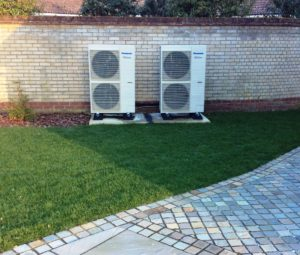 Panasonic Heat Pump Plant Room Eco Installer St.Neots Cambs